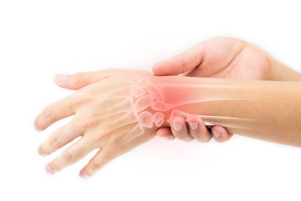 schmerzendes Handgelenk