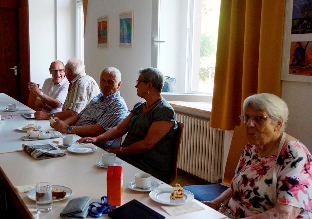 Monatliches Treffen Juli 2015