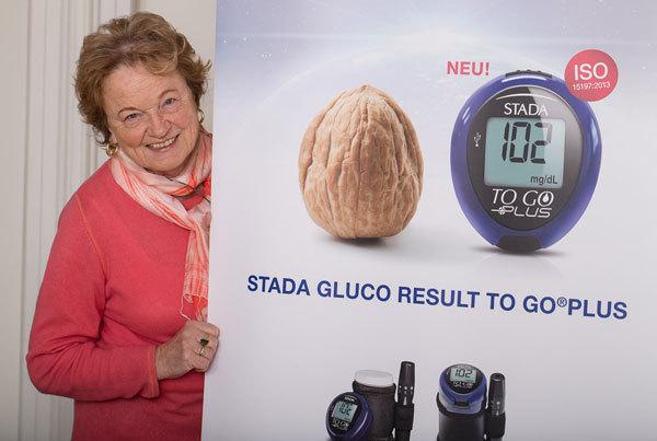 Tester der STADA-Blutzuckermessgeraete
