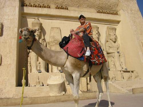 Marianne auf dem Kamel