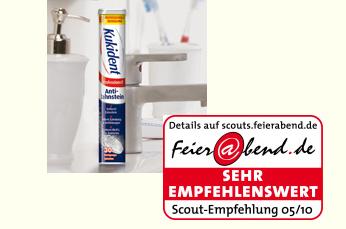 Empfehlung für Kukident Anti-Zahnstein