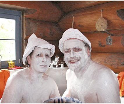 Scouts im Waschzuber in Baiersbronn, © Mitglied