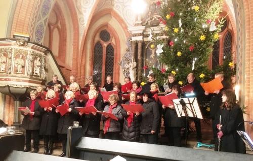 Fahrenholzer Chor in Aktion