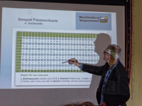 achtsames Umgehen mit Passwörtern