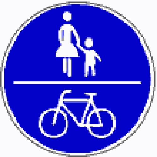 Fußgänger_Radfahrer
