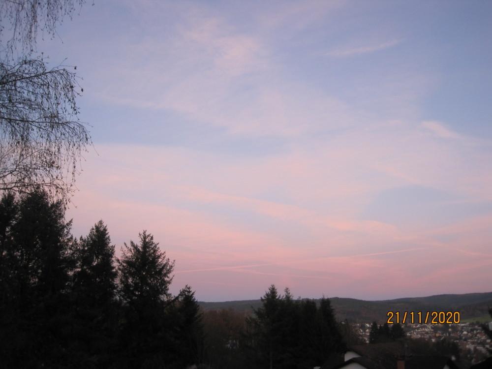 Amaryllis und Sonnenuntergang 006.JPG