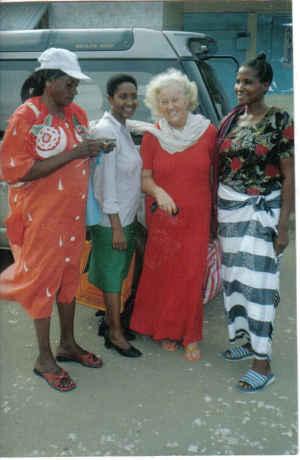 Meine Freunde in Tansania