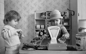 Kinderkaufladen in der DDR aus dem Jahr 1988