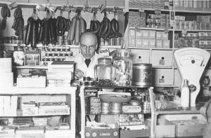Lebensmittelladen, 1950er Jahre