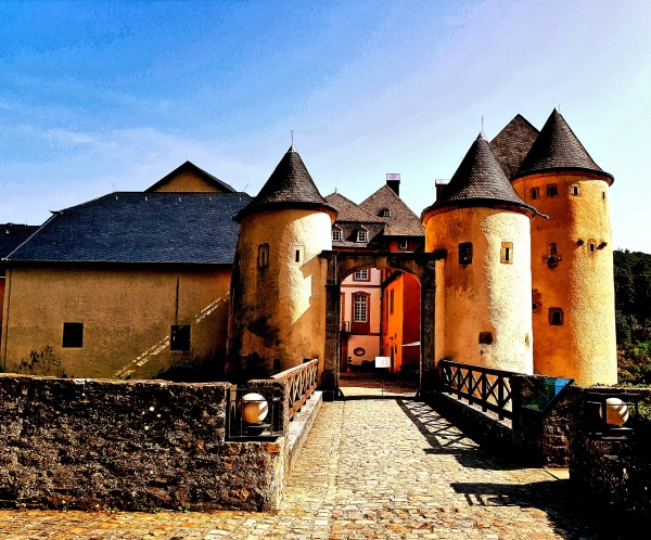 Chateau Bourglinster, Luxemburg