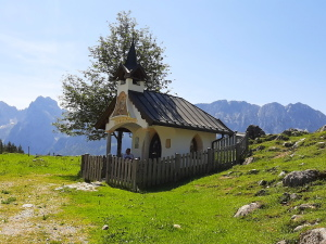 Kapelle - Ritzau Alm