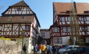 Fachwerkhäuser in Eberbach