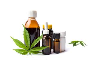 Cannabis in verschiedenen Dareichungsformen