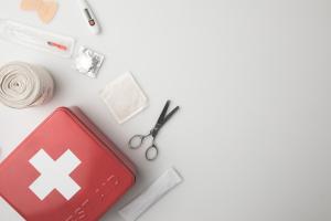 Inhalt eines Notfallkoffers