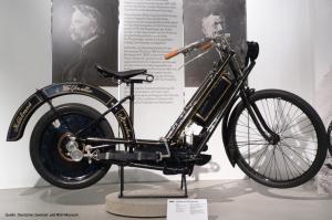 Erstes Serienmotorrad von Hildebrand und Wolfmüller
