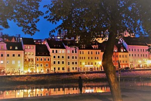 DSC_0155.JPG Blick nach Polen zur blauen Stunde