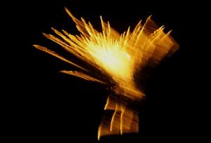 Bizarres Feuerwerk