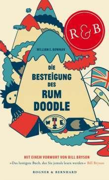 Cover - Die Besteigung des Rum Doodle  © Rogner & Bernhard