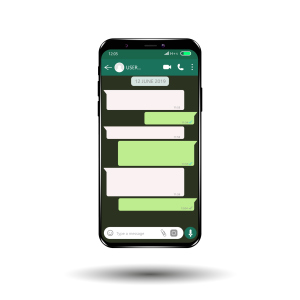 WhatsApp Screen Chat-Funktion