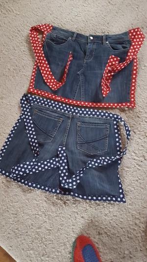 Schürze von einer Jeans