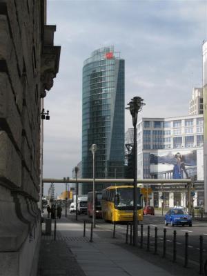 Blick zurück Richtung Potsdamer Platz