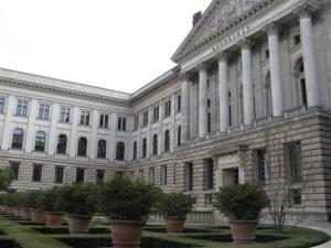 der Eingang zum Bundesrat
