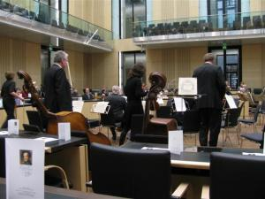 Einmarsch des Orchesters