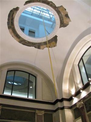Moderne Kunst in der Wandelhalle