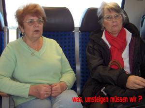 Umsteigen - Wittenberge