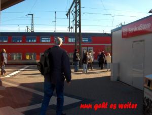 Bahnhofsleben