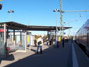 Bahnhofsidyll