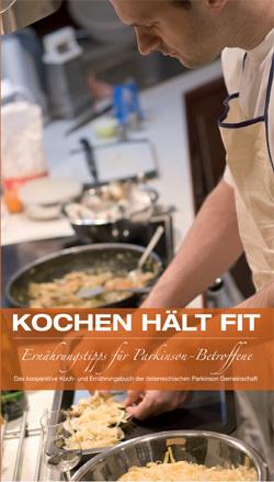 Cover Kochbuch Ernährung  für Parkinson-Kranke