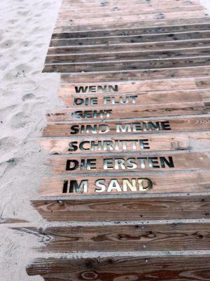 Füße in den Sand