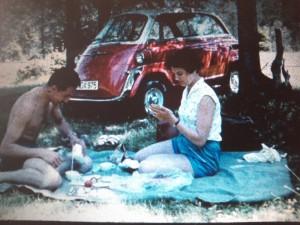 Picknick vor BMW 600
