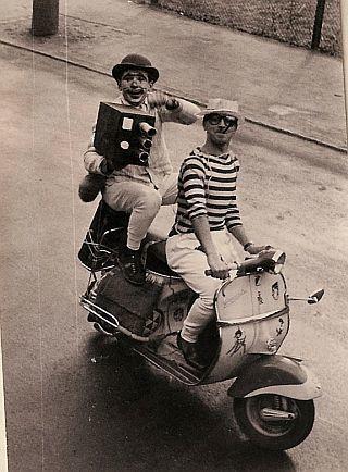 Faschingsumzug Dillstein 1961