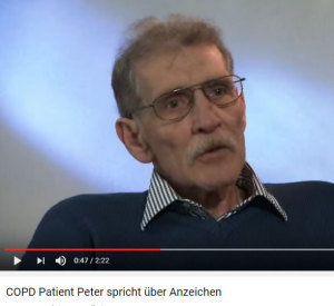COPD-Patient Peter