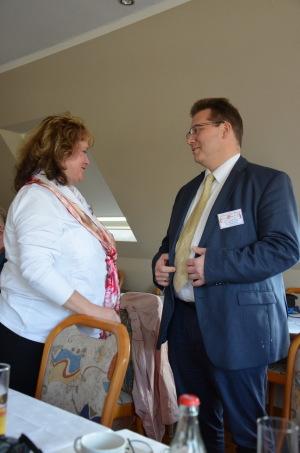 Feierabend-Vorstäne Alexander Wild und Harald Leyser beim Botschaftertreffen in Coesfeld 2014