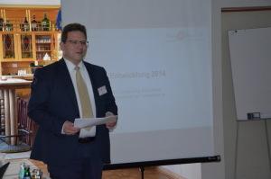 Harald Leyser beim Botschaftertreffen in Coesfeld 2014