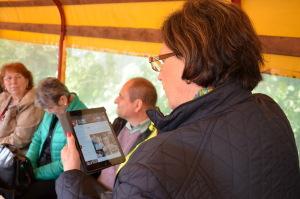 Planwagenfahrt beim Botschaftertreffen in Coesfeld 2014