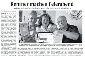 Zeitungsbericht zum Botschaftertreffen in Coesfeld 2014