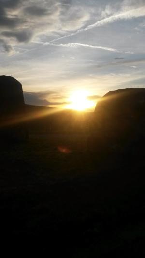 Sonnenuntergang 2020 02 16 um 17 22 Uhr