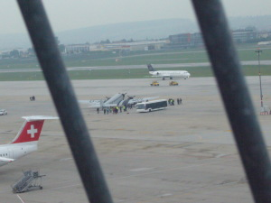 Airbus A380 in Stuttgart und dir gute Tante Ju