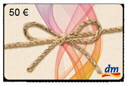 dm 50 EUR Gutschein