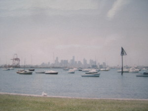 Skyline Melbourne 1998