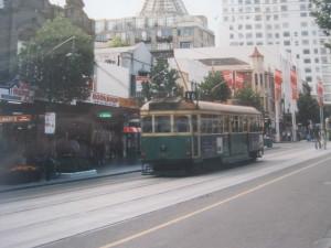 Tram,, Melbourne