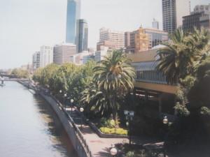 Skyline mit Yarra River
