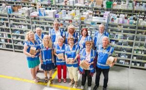 Feierabend-Scouts Im Lager der Europa Apotheek