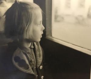 alte Fotografie eines Mädchens