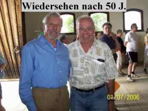 Treffen nach 50 Jahren am Fieldd