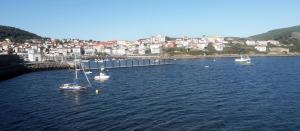Der kleine Fischerhafen von Finisterra.